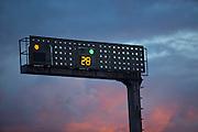 Carandai_MG, Brasil.<br /> <br /> Redutor de velocidade em Carandai, Minas Gerais.<br /> <br /> Radar in Belo Horizonte, Minas Gerais.<br />  <br /> Foto: LEO DRUMOND / NITRO