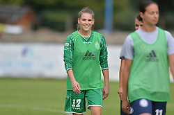Sara Nemet of ZNK Pomurje during the UEFA Women's Champions League Qualifying Match between ZNK Teleing Pomurje (SLO) and Olimpia Cluj (ROU) at Sportni Park on August 16, 2015 in Beltinci, Slovenia. Photo by Mario Horvat / Sportida