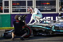March 16, 2019 - Melbourne, Australia - #44 Lewis Hamilton (GBR, Mercedes AMG Petronas Motorsport) takes sixth consecutive pole for FIA Formula One World Championship 2019, Grand Prix of Australia. (Credit Image: © Hoch Zwei via ZUMA Wire)
