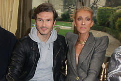 Celine Dion and Pepe Munoz at the Ronald van der Kemp show as part of Paris Haute Couture Fashion Week Spring/Summer 2019-2020 on January 23, 2019 in Paris, France. Photo by Jerome Domine/ABACAPRESS.COM