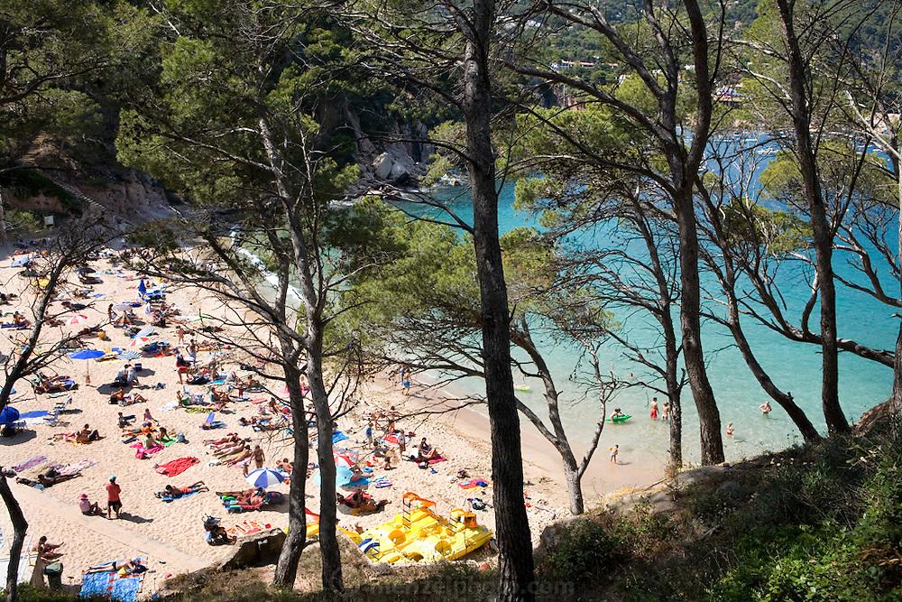 Aigua Blava beach, Costa Brava, Spain.