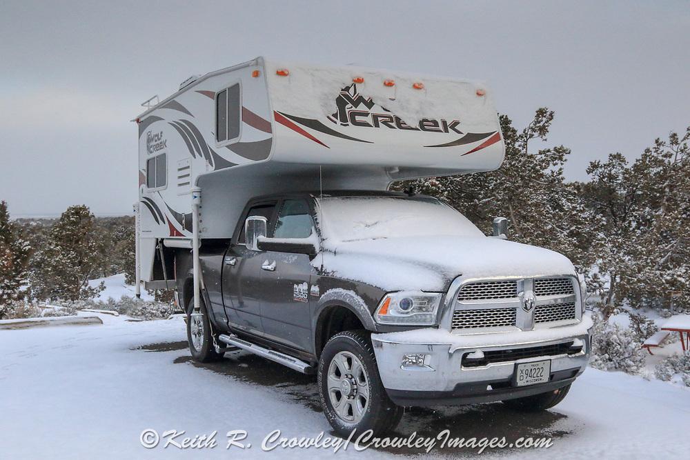 Truck Camper Travel
