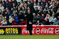 Photo: Andrew Unwin.<br /> Middlesbrough v Tottenham Hotspur. The Barclays Premiership. 18/12/2005.<br /> Middlesbrough's manager, Steve McLaren.
