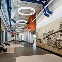 Pine Street Elementary School Main Corridor - Conyers, GA