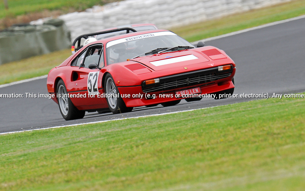 Len Watson - Ferrari 308GTB.Historic Motorsport Racing - Phillip Island Classic.18th March 2011.Phillip Island Racetrack, Phillip Island, Victoria.(C) Joel Strickland Photographics.Use information: This image is intended for Editorial use only (e.g. news or commentary, print or electronic). Any commercial or promotional use requires additional clearance.