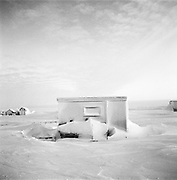 Barrow Alaska, photographed in March of 2012