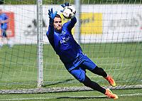 Fotball<br /> Tyskland<br /> Foto: Witters/Digitalsport<br /> NORWAY ONLY<br /> <br /> Torwart Christian Mathenia<br /> Laax, 04.07.2016, Fussball, Hamburger SV, Trainingslager Laax / Graubuenden, Schweiz 2016, Training