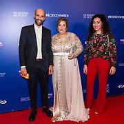 NLD/Amsterdam/20190322  - Boekenbal 2019, Abdelkader Benali en Saida Nadi Benali