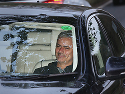 © Licensed to London News Pictures. 03/11/2015. Cobham, UK. Chelsea Manager Jose Mourinho smiles as he arrives for training. Photo credit: Peter Macdiarmid/LNP