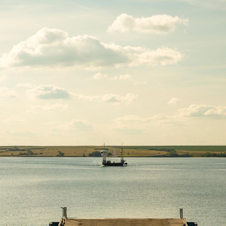 Riverhurst Ferry, South Saskatchewan jRiver