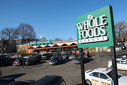 Feb. 14, 2013 - Boston, Massachusetts, U.S - A Whole Foods Market in the Jamaica Plain neighborhood of Boston, Massachusetts is photographed on Friday, February 15, 2013. (Credit Image: © Nicolaus Czarnecki/ZUMAPRESS.com)