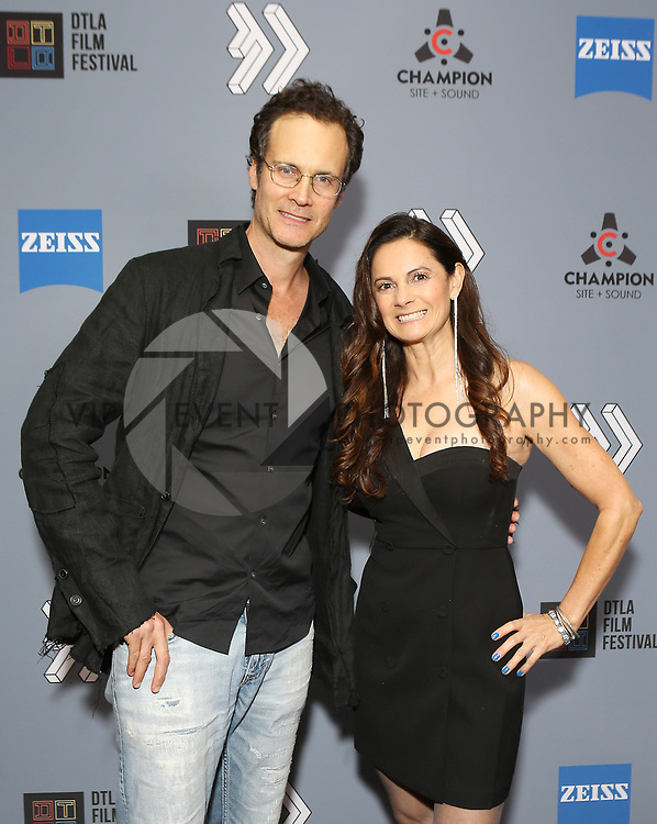 """Randall Batinkoff and Karolyne Sosa at DTLA Film Festival """"INSIDE GAME"""" Los Angeles Premiere held at Regal LA Live on October 24, 2019 in Los Angeles, California, United States (Photo by © Michael Tran/VipEventPhotography.com"""