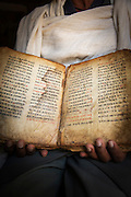 Scriptures from Yeha Temple Museum. Tigray Region. Ethiopia, Horn of Africa