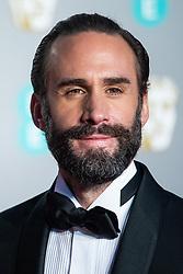 Joseph Fiennes attending 72nd British Academy Film Awards, Arrivals, Royal Albert Hall, London. 10th February 2019