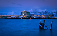 HOFN, ICELAND - CIRCA MARCH 2015: Port of Hofn in Iceland.