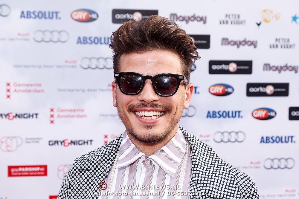 NLD/Amsterdam/20150629 - Uitreiking Rainbow Awards 2015, Geza Weisz