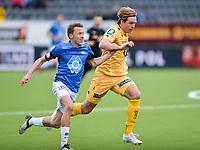 Fotball , 17. april 2016 ,  Tippeligaen , Eliteserien ,<br /> Bodø Glimt - Molde<br /> Martin Bjørnbak, Bodø Glimt<br /> Mattias Mostrøm, Molde
