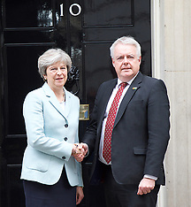 Carwyn Jones visit to Downing Street 30th October 2017