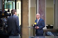 DEU, Deutschland, Germany, Berlin, 05.03.2021: Hamburgs Erster Bürgermeister Peter Tschentscher (SPD) bei einem Statement im Bundesrat.