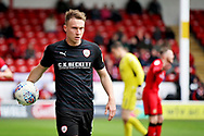 Barnsley forward Cauley Woodrow during the EFL Sky Bet League 1 match between Walsall and Barnsley at the Banks's Stadium, Walsall, England on 23 March 2019.