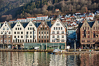Historic Bergen from across the harbor. Five of seven images taken with a Nikon 1 V2 camera and 10-30 mm lens(ISO 200, 30 mm, f/5.6, 1/1000 sec).