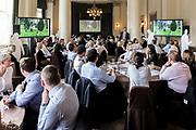 Photographing a team building event at the Edinburgh Hilton Carlton Hotel