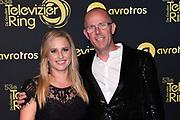 Uitreiking Gouden Televizier-Ring Gala 2018.<br /> <br /> OP de foto:  Nicolien Kroon en partner