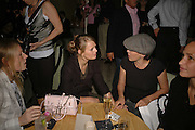 LUELLA BARTLEY, JEMIMA FRENCH, SADIE FROST AND ROSEMARY FERGUSON, Luella Bartley Dinner, Nobu, Berkeley St. 16 May 2006. ONE TIME USE ONLY - DO NOT ARCHIVE  © Copyright Photograph by Dafydd Jones 66 Stockwell Park Rd. London SW9 0DA Tel 020 7733 0108 www.dafjones.com