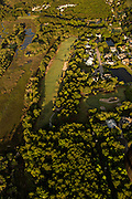 Aerial view of Charleston National Golf Course Mount Pleasant, SC.