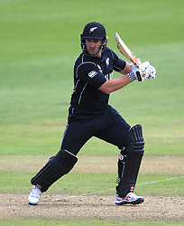 New Zealand's Neil Broom during the ICC Champions Trophy, Group A match at Sophia Gardens, Cardiff.