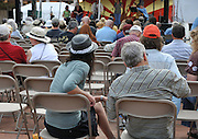 Plaza Stage audience at the 2010 Tucson Folk Festival.