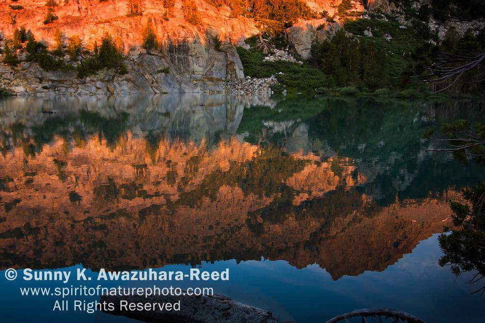 Third Lake, dawn