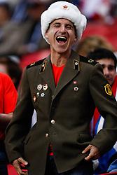 June 22, 2017 - Torcida chilena durante partida entre Alemanha x Chile válida pela segunda rodada da Copa das Confederações 2017, nesta quinta-feira (22), realizada na Arena Kazan, em Kazan, na Rússia. (Credit Image: © Marcelo Machado De Melo/Fotoarena via ZUMA Press)