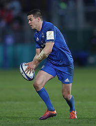 Leinster's Johnny Sexton during the Heineken European Champions Cup, pool one match at The Recreation Ground, Bath. PRESS ASSOCIATION Photo. Picture date: Saturday December 8, 2018. See PA story RUGBYU Bath. Photo credit should read: David Davies/PA Wire. RESTRICTIONS: Editorial use only. No commercial use.