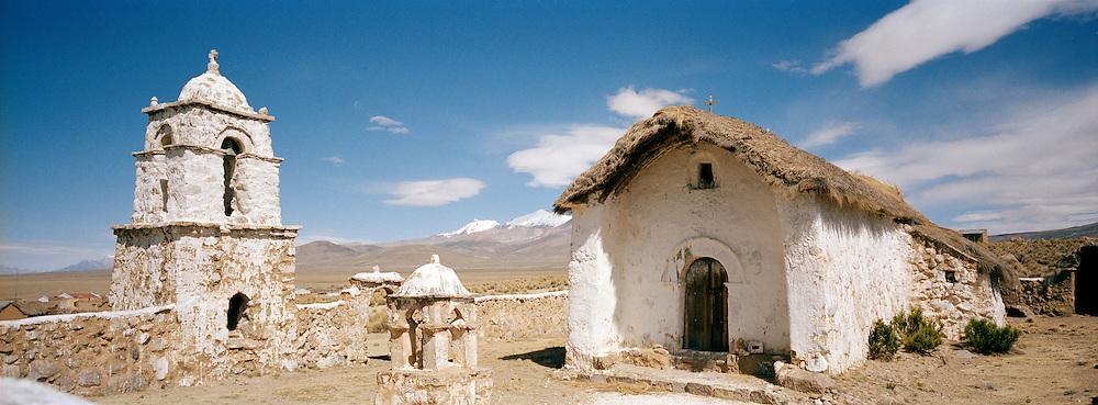 Small market town of Tomarapi, Potosi region, Bolivia