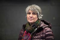 DEU, Deutschland, Germany, Berlin, 10.12.2020: Portrait von Parastou Forouhar, iranische Künstlerin und Aktivistin.