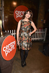 Ellie Taylor at the Centrepoint Ultimate Pub Quiz, Village Underground, 54 Holywell Lane, London England. 7 February 2017.
