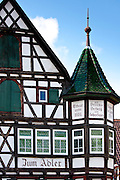 Guesthouse Adler in Black Forest town of Schiltach, Bavaria, Germany