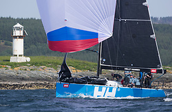 Sailing - SCOTLAND  - 27th May 2018<br /> <br /> 3rd days racing the Scottish Series 2018, organised by the  Clyde Cruising Club, with racing on Loch Fyne from 25th-28th May 2018<br /> <br /> GBR 732R, Wildebeeste, Craig Latimer, Ker 32<br /> <br /> Credit : Marc Turner<br /> <br /> Event is supported by Helly Hansen, Luddon, Silvers Marine, Tunnocks, Hempel and Argyll & Bute Council along with Bowmore, The Botanist and The Botanist
