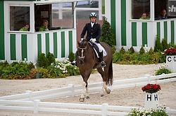 Yonatan Dresler, (ISR), Flylight - Team Competition Grade III Para Dressage - Alltech FEI World Equestrian Games™ 2014 - Normandy, France.<br /> © Hippo Foto Team - Jon Stroud <br /> 25/06/14
