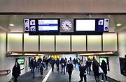 Nederland, Nijmegen, 13-3-2018De onderdoorgang, tunnel, van het station,treinstation nijmegen centraal . Het gebouw, statiosgebouw is aan modernisering toe .Foto: Flip Franssen