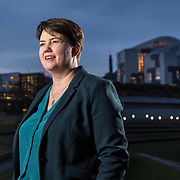Scottish Conservative MSP Ruth Davidson at the Scottish Parliament in Edinburgh. Picture Robert Perry for The Times 20th November 2019