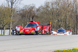 May 4, 2018 - Lexington, Ohio, United States of America - The JDC-Miller Motorsports ORECA LMP2 car races through the turns at the Acura Sports Car Challenge at Mid Ohio Sports Car Course in Lexington, Ohio. (Credit Image: © Walter G Arce Sr Asp Inc/ASP via ZUMA Wire)