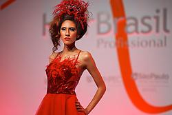 Show Intercoiffure Paraguai durante a Hair Brasil 2013 - 12 ª Feira Internacional de Beleza, Cabelos e Estética, que acontece de 06 a 09 de abril no Expocenter Norte, em São Paulo. FOTO: Jefferson Bernardes/Preview.com