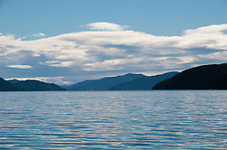New Zealand, South Island: Scenic landscape near town of Picton on Marlborough Sounds. Photo copyright Lee Foster. Photo # 125206