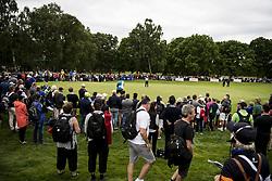 June 2, 2017 - BarsebäCk, Sverige - 170602 Publik följer spelet under dag tvÃ¥ av golftävlingen Nordea Masters den 2 juni 2017 i Barsebäck  (Credit Image: © Petter Arvidson/Bildbyran via ZUMA Wire)