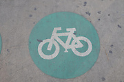 Bicycle lane Israel, Tel Aviv, Rothschild Boulevard
