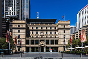 Customs House, Circular Quay, in Sydney's Central Business District is very empty as a result of the Coronavirus Outbreak, with very few office workers around, Sydney, Australia.