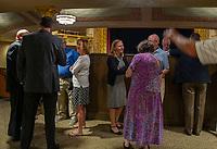 Colonial Theater ribbon cutting / open house August 27, 2021.  (Karen Bobotas Photo/for Belknap EDC