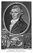 Ebenezer Sibly (d1800) English astrologer and physician. Engraving.